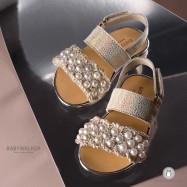 Πέδιλα με Πέρλες για Κορίτσια Babywalker EXC5649