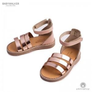 Δερμάτινα Αρχαιοελληνικά Πέδιλα για Κορίτσια Babywalker GR0019