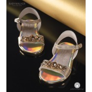 Πέδιλα με Μεγάλα Κρύσταλλα Swarovski Babywalker LU6042