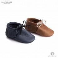 Δερμάτινα Loafers Αγκαλιάς με Κρόσια Babywalker MI1052