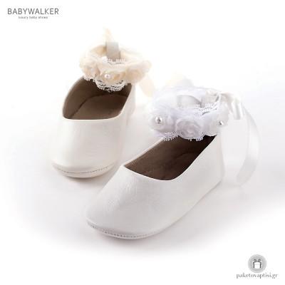 Μπαλαρίνες Αγκαλιάς με Διακοσμητικό Βραχιολάκι Ποδιού Babywalker MI1506