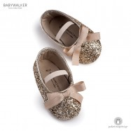Χρυσές Glitter Μπαλαρίνες Aγκαλιάς Babywalker MI1562