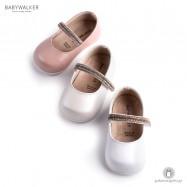 Γοβάκια για τα Πρώτα Βήματα με Μπαρέτα από Strass Babywalker PRI2545