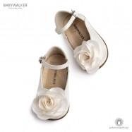 Γαλλικά Γοβάκια για τα Πρώτα Βήματα με Διακοσμητικό Τριαντάφυλλο Babywalker PRI2552