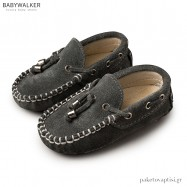 Suede Δετά Ανθρακί loafers Babywalker BW4150