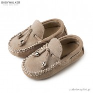 Suede Δετά Μπεζ loafers Babywalker BW4150