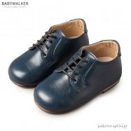 Δερμάτινα Δετά Μπλε Dirty Shoes Babywalker BW4151