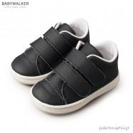Δερμάτινα Μπλε Sneakers με Διπλό Velcro Babywalker BS3028