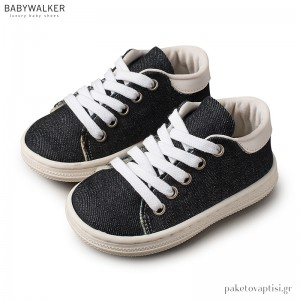 Υφασμάτινα Δετά Μπλε Sneakers Babywalker BS3029
