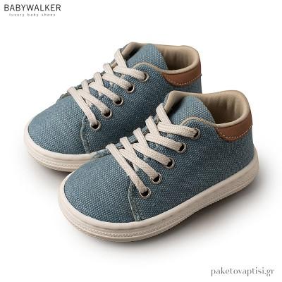 Υφασμάτινα Δετά Σιέλ Sneakers Babywalker BS3029