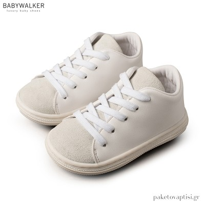 Δετά Off White Sneakers Babywalker BS3030