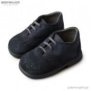 Δετά Μπλε Brogues Babywalker BS3042