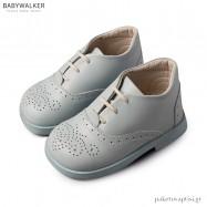 Δερμάτινα Δετά Σιέλ Brogues Babywalker BS3042