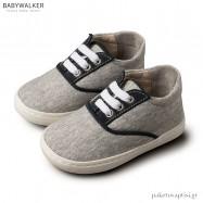 Δετά Γκρι με Μπλε Sneakers Babywalker BS3043