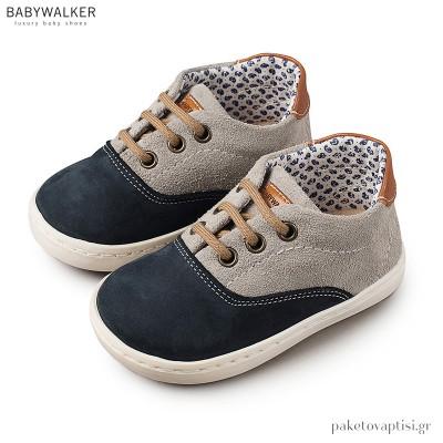 Δετά Δερμάτινα Sneakers Babywalker EXC5067