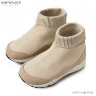 Πλεκτά Μπεζ Μποτάκια Sneakers Babywalker EXC5122