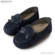 Δερμάτινα Μπλε Δετά Dirty Shoes Babywalker EXC5140