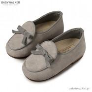 Δερμάτινα Γκρι Δετά Dirty Shoes Babywalker EXC5140