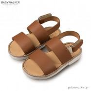 Δερμάτινα Ταμπά Σανδάλια Babywalker GR0038