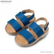 Δερμάτινα Μπλε Ηλεκτρίκ Σανδάλια Babywalker GR0038