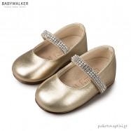 Γοβάκια με Μπαρέτα από Κρύσταλλα Swarovski Babywalker LU6003