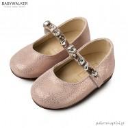 Γοβάκια με Μπαρέτα και Κρύσταλλα Swarovski Babywalker LU6057