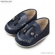 Δερμάτινα Δετά Μπλε Loafers Babywalker PRI2062