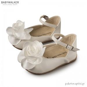 Γαλλικά Γοβάκια Διακοσμημένα με Τριαντάφυλλο Babywalker PRI2552