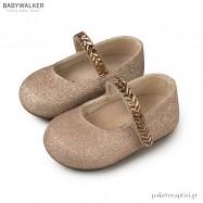 Υφασμάτινα Γοβάκια με Κρυστάλλινη Μπαρέτα Babywalker PRI2557