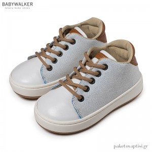 Δετά Λευκά Sneakers Babywalker BW4173