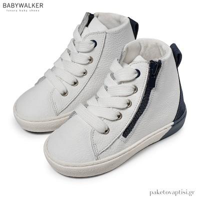 Δετά Δίχρωμα Μποτάκια Babywalker BW4174
