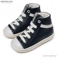 Δετά Δερμάτινα Μπλε Μποτάκια Babywalker BW4175