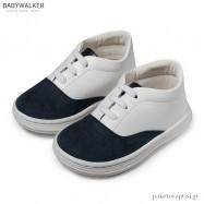 Δετά Sneakers Λευκό με Μπλε Babywalker BS3047