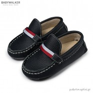 Δερμάτινα Μπλε Loafers Babywalker BS3048