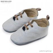 Δετά Λευκά Sneakers Αγκαλιάς Babywalker MI1064
