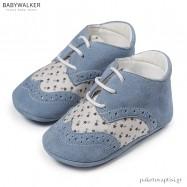 Δετά Δίχρωμα Καστόρινα Brogues Αγκαλιάς Babywalker MI1080