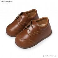 Δερμάτινα Κάμελ Brogues Babywalker PRI2070