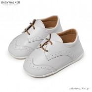 Δερμάτινα Λευκά Brogues Babywalker PRI2070