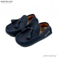 Δερμάτινα Loafers με Φουντάκια Babywalker BW4200
