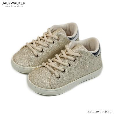 Δετά Μεταλιζέ Sneakers Babywalker BW4724