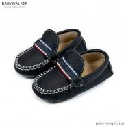 Μπλε Δερμάτινα Loafers Babywalker BS3052