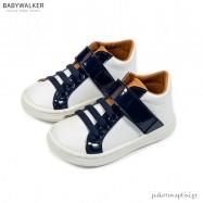 Λευκό με Μπλε και Ταμπά Sneakers Babywalker BS3055
