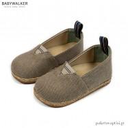 Υφασμάτινες Μπεζ Εσπαντρίγιες Babywalker BS3058
