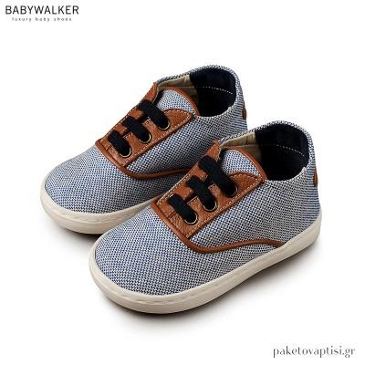 Σιέλ με Ταμπά Δετά Sneakers Babywalker EXC5065