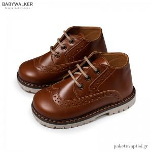 Ταμπά Δερμάτινα Δετά Brogues Babywalker EXC5157