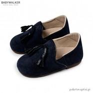 Μπλε Καστόρινα Sleepers με Φουντάκια Babywalker EXC5173