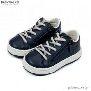 Μπλε Sneakers με Φερμουάρ Babywalker EXC5201