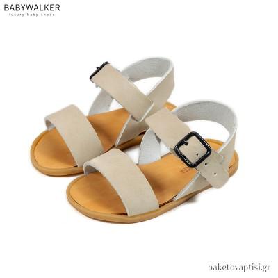 Δερμάτινα Σανδάλια Babywalker GR0060IV
