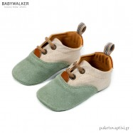 Δετά Δίχρωμα Sneakers Αγκαλιάς Babywalker MI1082