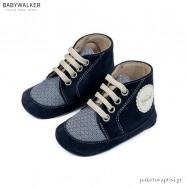Δετά Μπλε Μποτάκια Αγκαλιάς Babywalker MI1094